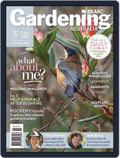 Gardening Australia (Digital) November 1st, 2020 Issue Cover