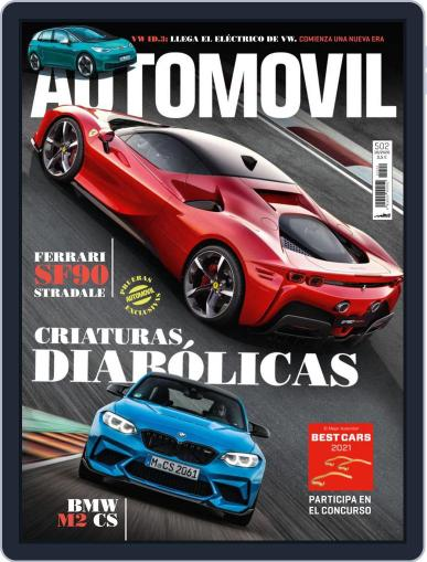 Automovil (Digital) October 1st, 2020 Issue Cover