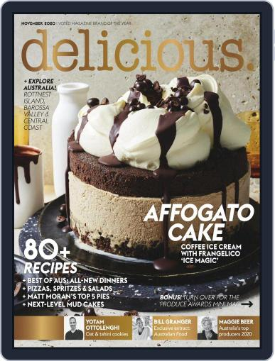 delicious (Digital) November 1st, 2020 Issue Cover