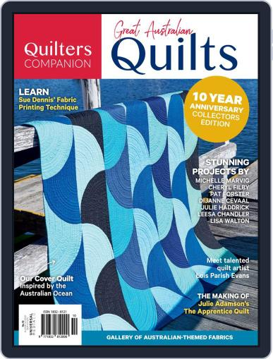 Great Australian Quilts October 1st, 2019 Digital Back Issue Cover