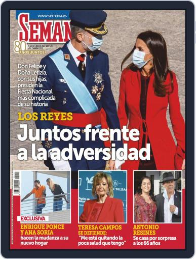 Semana (Digital) October 21st, 2020 Issue Cover