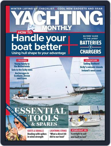 Yachting Monthly November 1st, 2020 Digital Back Issue Cover