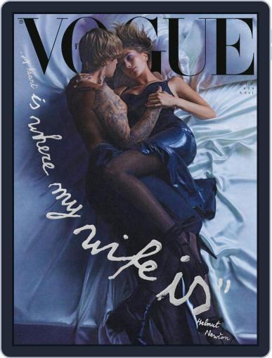 Vogue Italia (Digital) October 1st, 2020 Issue Cover