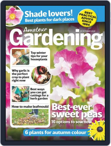 Amateur Gardening October 10th, 2020 Digital Back Issue Cover