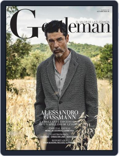 Gentleman España October 1st, 2020 Digital Back Issue Cover