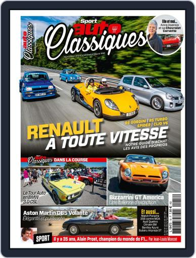 Sport Auto France October 7th, 2020 Digital Back Issue Cover