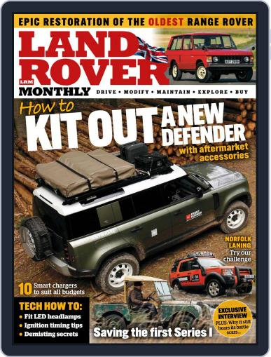 Land Rover Monthly December 1st, 2020 Digital Back Issue Cover