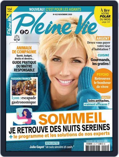 Pleine Vie November 1st, 2020 Digital Back Issue Cover