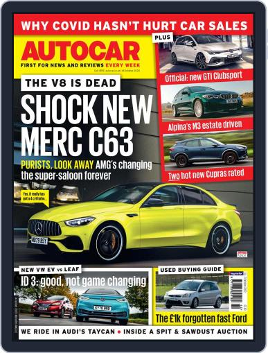Autocar (Digital) October 14th, 2020 Issue Cover