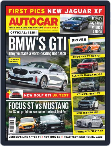 Autocar (Digital) October 7th, 2020 Issue Cover