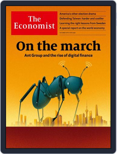 The Economist Asia Edition October 10th, 2020 Digital Back Issue Cover