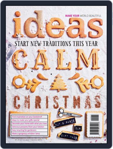 Ideas November 1st, 2020 Digital Back Issue Cover