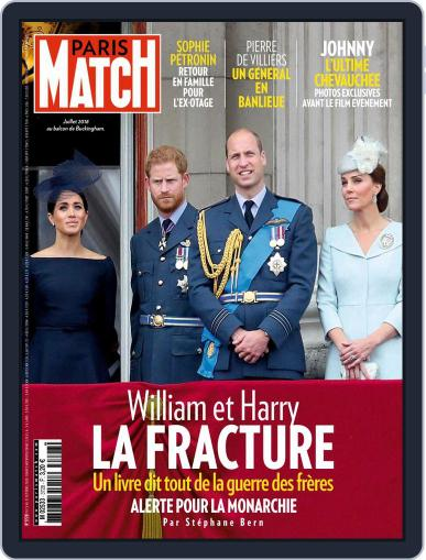 Paris Match (Digital) October 15th, 2020 Issue Cover