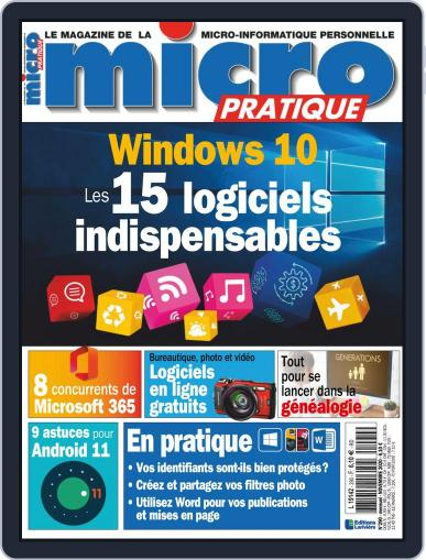 Micro Pratique (Digital) October 8th, 2020 Issue Cover