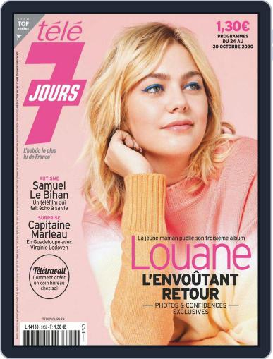 Télé 7 Jours October 24th, 2020 Digital Back Issue Cover