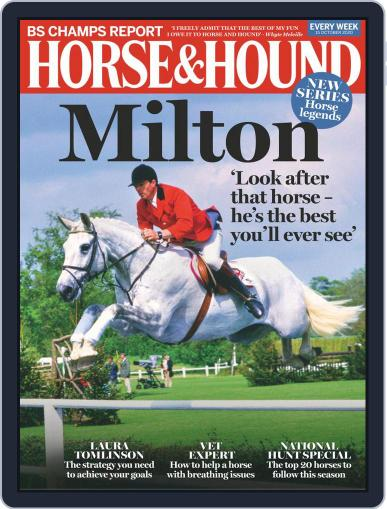 Horse & Hound October 15th, 2020 Digital Back Issue Cover