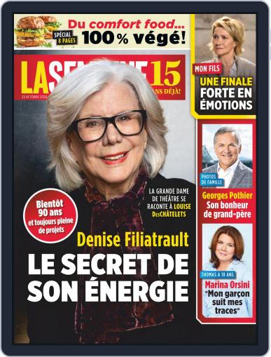 La Semaine October 23rd, 2020 Digital Back Issue Cover