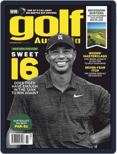 Golf Australia November 1st, 2020 Digital Back Issue Cover
