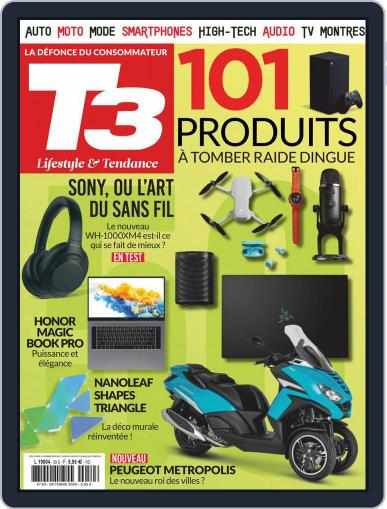 T3 Gadget Magazine France (Digital) October 1st, 2020 Issue Cover