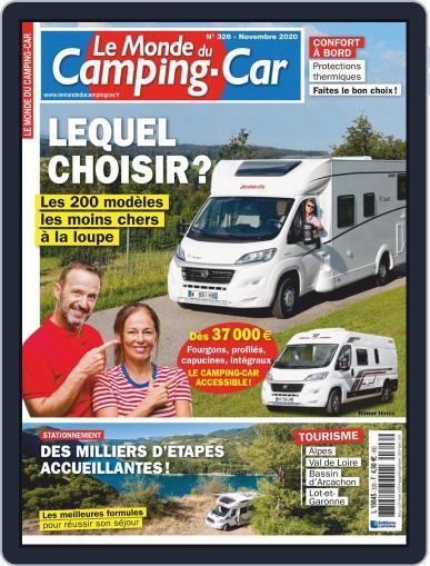 Le Monde Du Camping-car November 1st, 2020 Digital Back Issue Cover