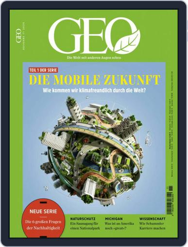 GEO November 1st, 2020 Digital Back Issue Cover
