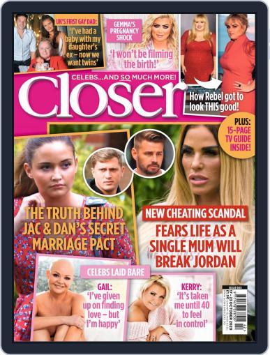 Closer (Digital) October 17th, 2020 Issue Cover