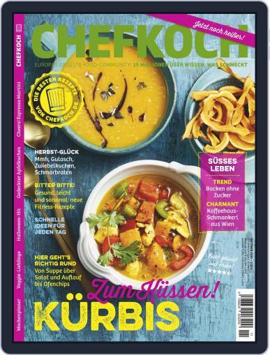 Chefkoch (Digital) November 1st, 2020 Issue Cover
