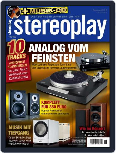 stereoplay November 1st, 2020 Digital Back Issue Cover