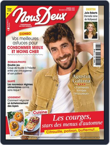 Nous Deux October 6th, 2020 Digital Back Issue Cover