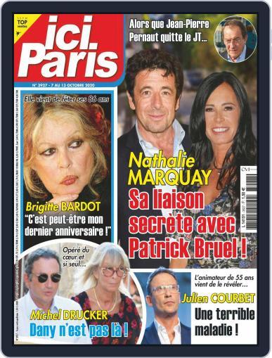 Ici Paris (Digital) October 7th, 2020 Issue Cover