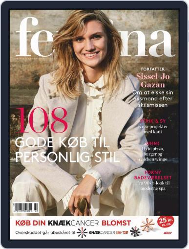 femina Denmark (Digital) October 15th, 2020 Issue Cover