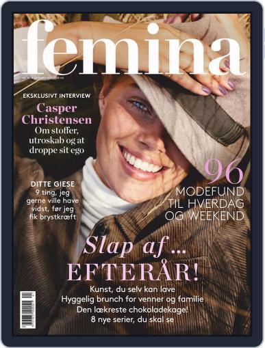 femina Denmark October 10th, 2020 Digital Back Issue Cover
