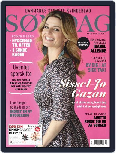 SØNDAG (Digital) October 19th, 2020 Issue Cover