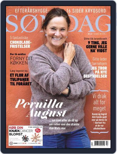 SØNDAG (Digital) October 12th, 2020 Issue Cover