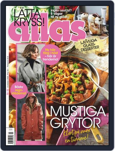 Allas October 8th, 2020 Digital Back Issue Cover
