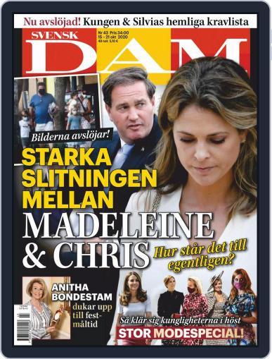 Svensk Damtidning (Digital) October 15th, 2020 Issue Cover