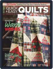 QUICK QUILTS (Digital) Subscription December 1st, 2020 Issue