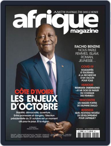 Afrique October 1st, 2020 Digital Back Issue Cover