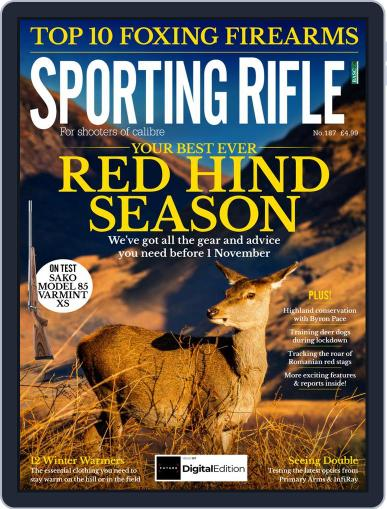 Sporting Rifle (Digital) November 1st, 2020 Issue Cover