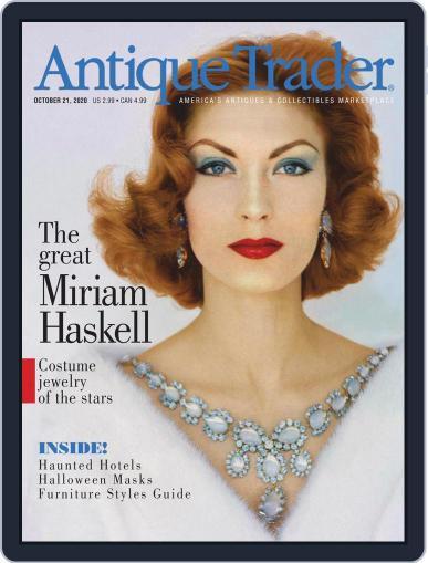 Antique Trader October 21st, 2020 Digital Back Issue Cover