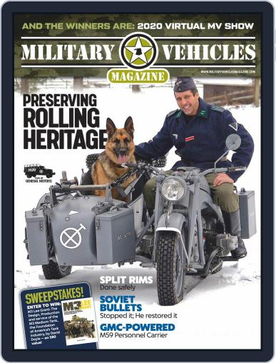 Military Vehicles (Digital) December 1st, 2020 Issue Cover