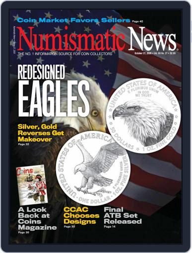 Numismatic News (Digital) October 27th, 2020 Issue Cover