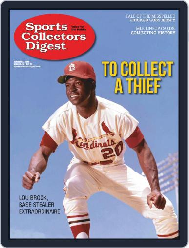 Sports Collectors Digest October 23rd, 2020 Digital Back Issue Cover