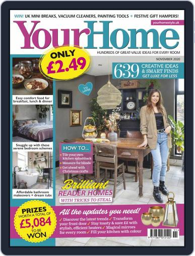 Your Home (Digital) November 1st, 2020 Issue Cover
