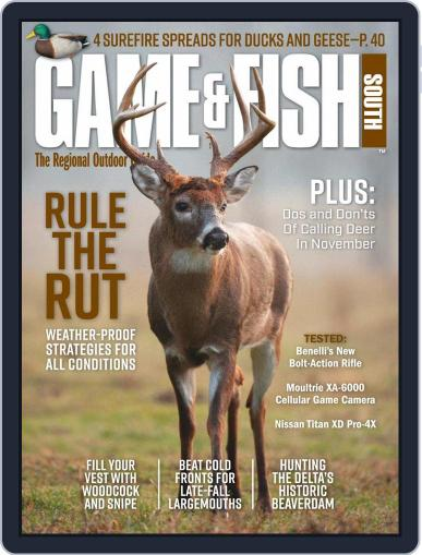 Game & Fish South November 1st, 2020 Digital Back Issue Cover