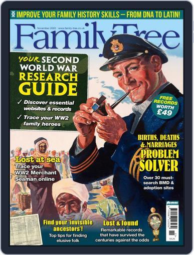 Family Tree UK (Digital) November 1st, 2020 Issue Cover