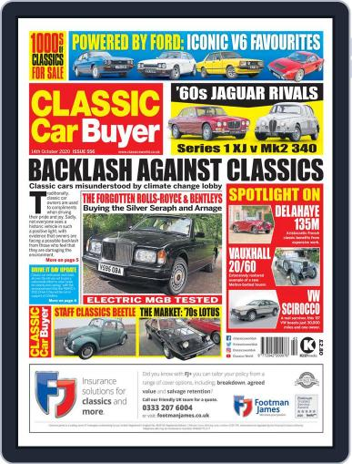 Classic Car Buyer October 14th, 2020 Digital Back Issue Cover