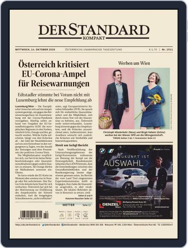 STANDARD Kompakt (Digital) October 14th, 2020 Issue Cover