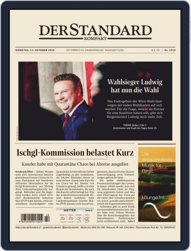 STANDARD Kompakt (Digital) October 13th, 2020 Issue Cover