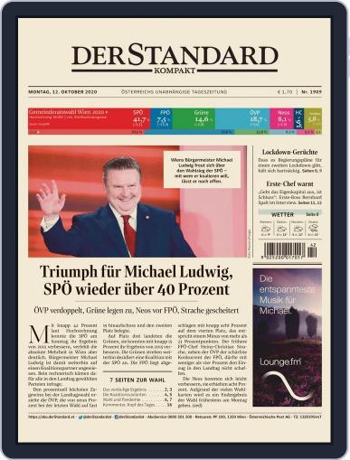 STANDARD Kompakt (Digital) October 12th, 2020 Issue Cover